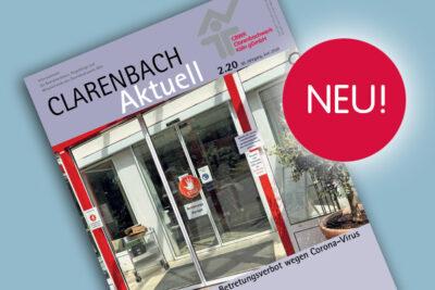 Druckfrisch: Die neue Clarenbach aktuell ist da!