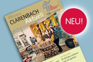 Die neue Clarenbach aktuell ist da!
