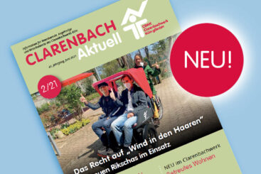 Die Clarenbach aktuell 2/21 – in neuem Layout!